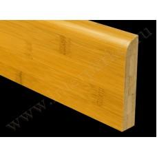 Плинтус деревянный Бамбук Кофе BB-36C (Komodoor)