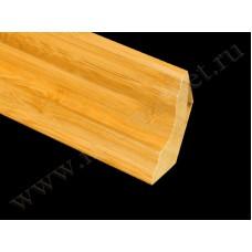 Плинтус деревянный Бамбук Кофе BB-02C (Komodoor)