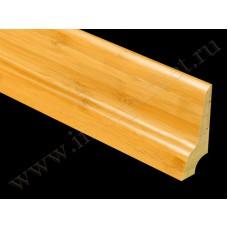 Плинтус деревянный Бамбук Кофе BB-04C (Komodoor)