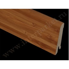 Плинтус деревянный Бамбук темный (Pedross)